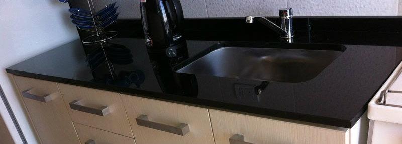 Cubiertas de granito para cocina y lavamanos