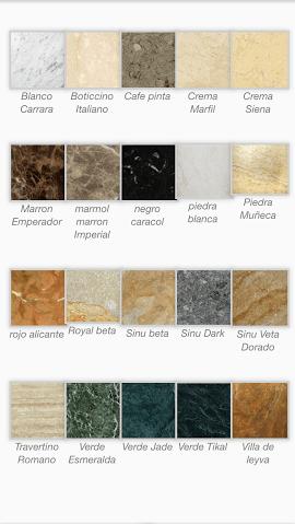 Granitos y marmoles for Marmoles y granitos naturales