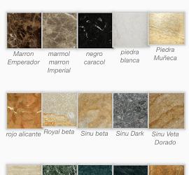 granitos y marmoles